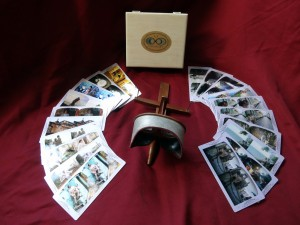 Order a Special Gift Set. Includes Photo Shoot, Antique Holmes Viewer, and Box and 20 Original Cards